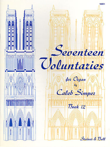 Simper, Caleb: Seventeen Voluntaries. Book 12