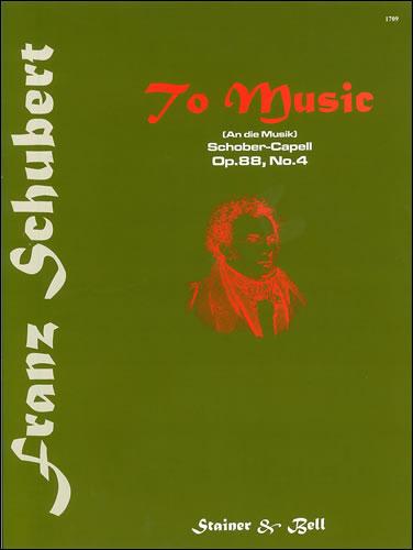 Schubert, Franz: An Die Musik (To Music). B Flat Major