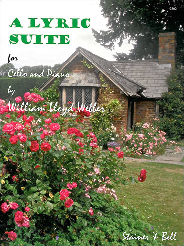 Lloyd Webber, William: A Lyric Suite For Cello And Piano