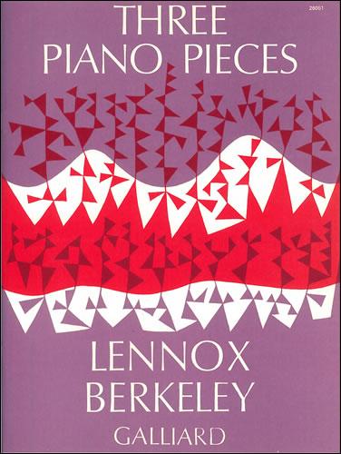 Berkeley, Lennox: Three Pieces Op. 2.