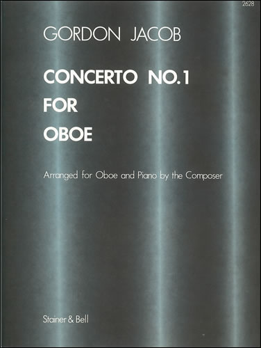 Jacob, Gordon: Concerto No. 1 For Oboe And Strings. Trans. Oboe And Piano