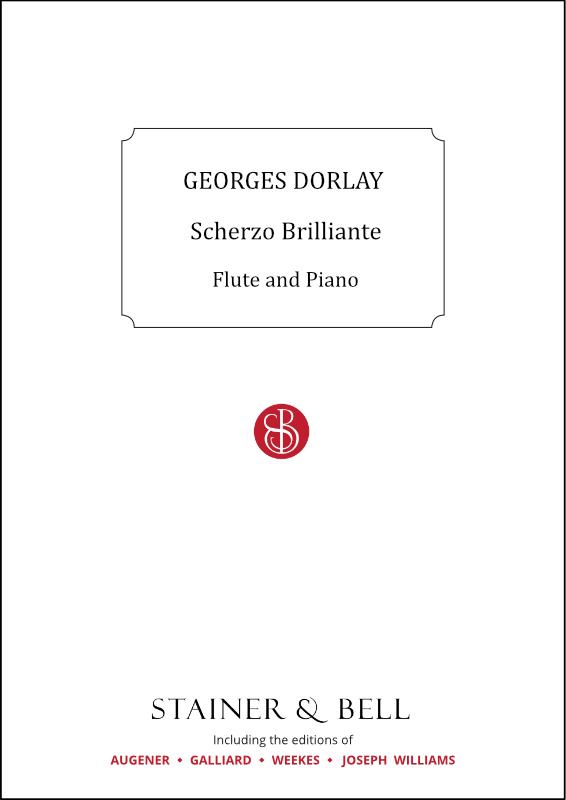 Dorlay, Georges: Scherzo Brilliante Flute & Piano