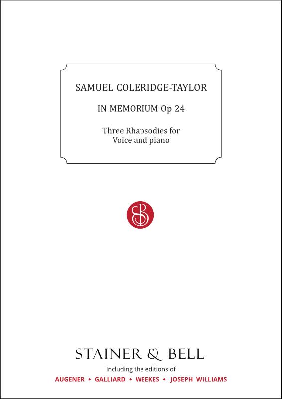 Coleridge-Taylor, Samuel: In Memorium, Op 24