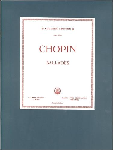 Chopin, Frédéric François: Ballades, The