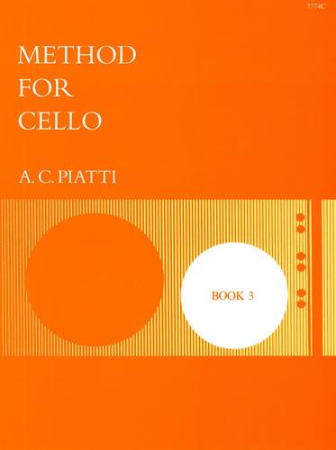 Piatti, A.C.: Cello Method: Book 3