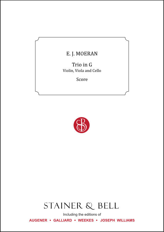 Moeran, Ernest J.: Trio In G For Violin, Viola And Cello