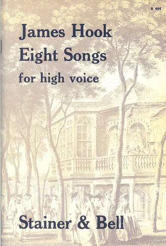 Hook, James: Eight Songs For High Voice