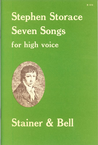 Storace, Stephen: Seven Songs For High Voice