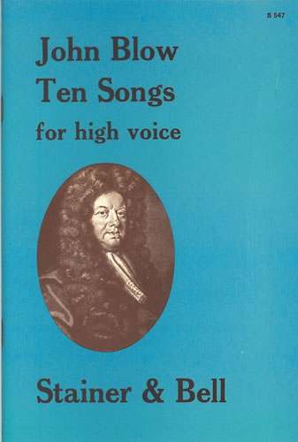 Blow, John: Ten Songs For High Voice