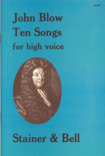 Blow, John: Ten Songs For High Voice