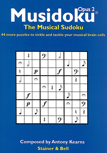 Musidoku: The Musical Sudoku. Opus 2