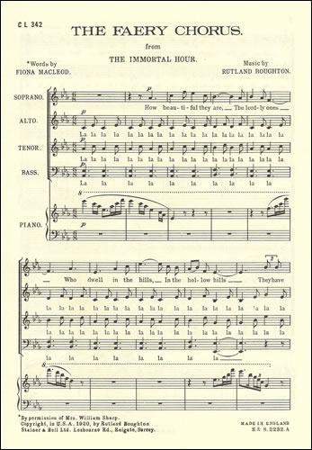 Boughton, Rutland: Faery Chorus From 'The Immortal Hour'