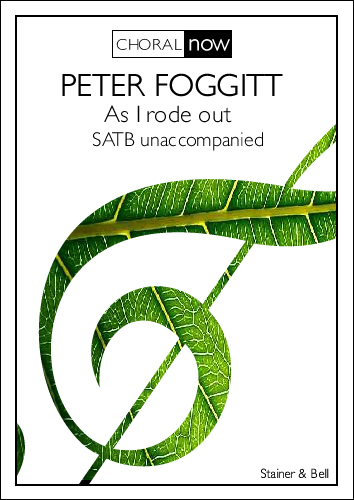 Foggitt, Peter: As I Rode Out