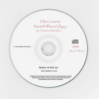 Michael, Richard: Classroom Small Band Jazz. Book 3. Backing CD