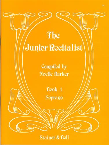 The Junior Recitalist Book 1. Soprano