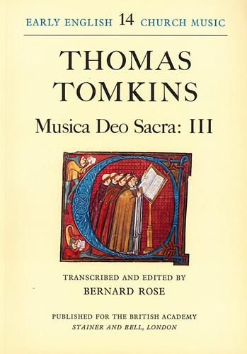 Tomkins, Thomas: Musica Deo Sacra: III
