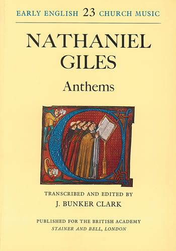 Giles, Nathaniel: Anthems