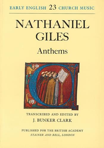 Giles, Nathaniel: Anthems