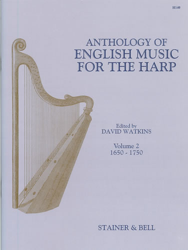 Anthology Of English Music For Harp. Book 2: 1650-1750