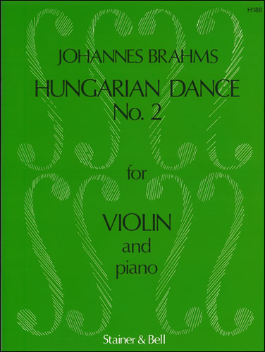 Brahms, Johannes: Hungarian Dance No. 2 Arranged By J. Hubay For Violin And Piano