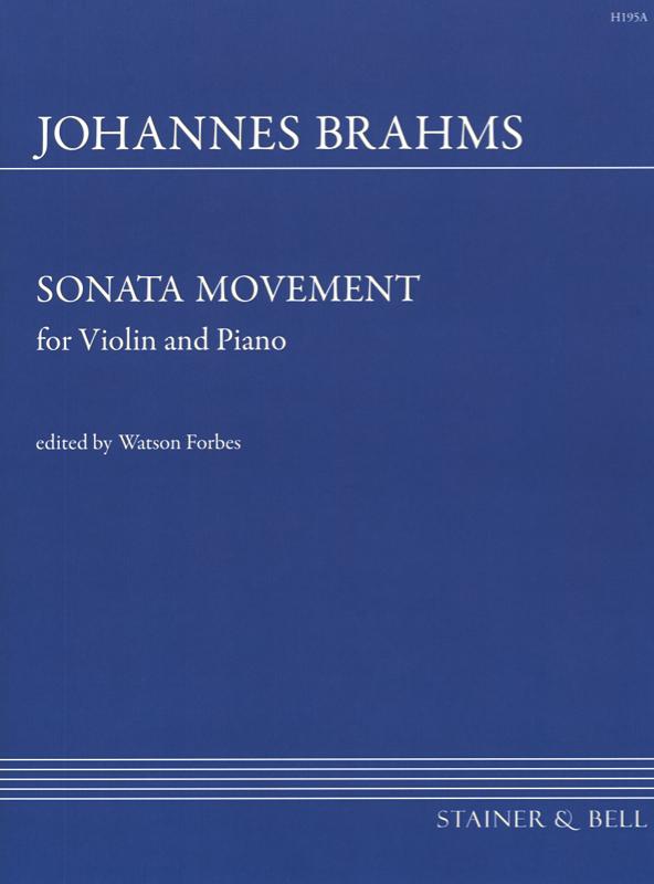 Brahms, Johannes: Sonata Movement (Sonatensatz) Scherzo (1853)