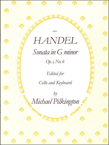 Handel, George Frideric: Sonata In G Minor, Op 1, No 6