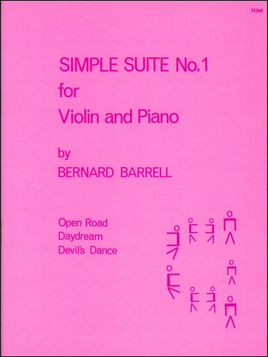 Barrell, Bernard: Simple Suite No.1 For Violin And Piano