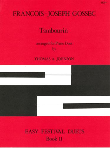 Gossec, François-Joseph: Tambourin. Arranged By Thomas A. Johnson