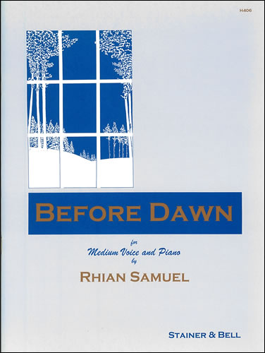Samuel, Rhian: Before Dawn