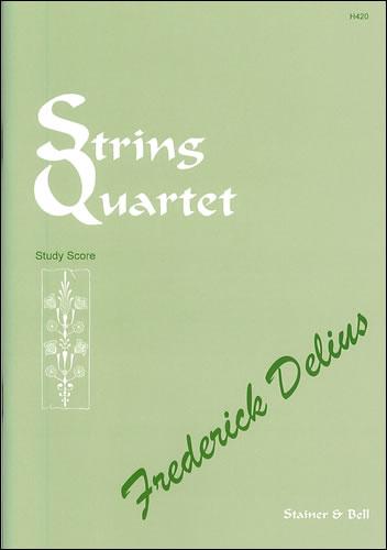 Delius, Frederick: String Quartet (1916). Study Score