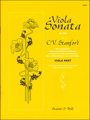 Stanford, Charles V: Sonata For Clarinet And Piano Op.129 Arr.Viola