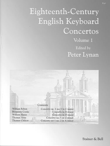 Eighteenth-Century English Keyboard Concertos. Volume 1