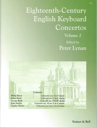 Eighteenth-Century English Keyboard Concertos. Volume 2