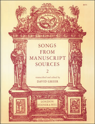 Songs From Manuscript Sources: 2
