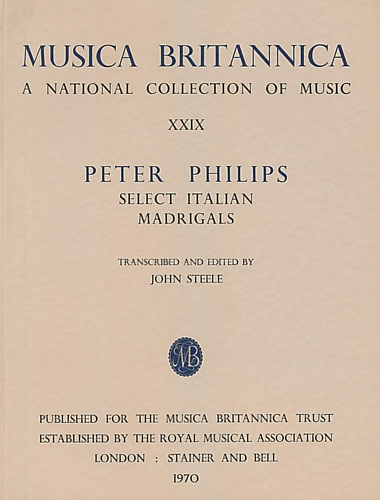 Philips, Peter: Select Italian Madrigals