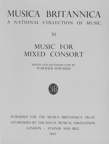 Music For Mixed Consort