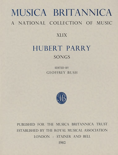 Parry, C. Hubert: Songs