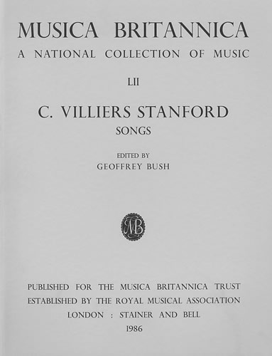Stanford, Charles V: Songs