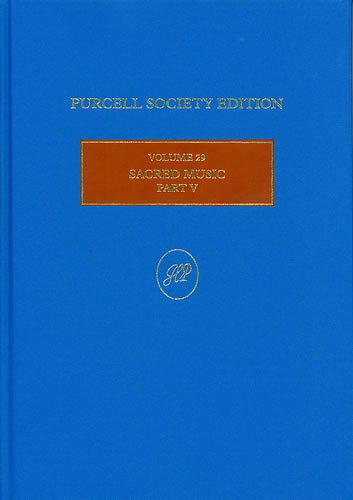 Purcell, Henry: Sacred Music, Part V: Continuo Anthems II