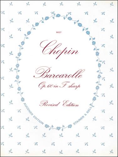 Chopin, Frédéric François: Barcarolle In F Sharp, Op. 60