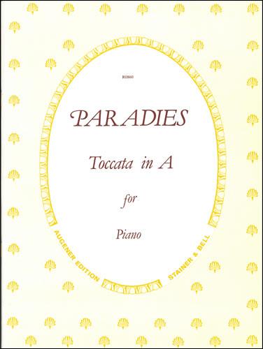 Paradies, Domenico: Toccata In A