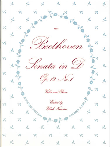 Beethoven, Ludwig Van: Sonata In D, Op. 12, No. 1. Violin & Piano