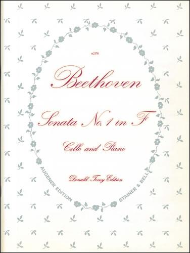 Beethoven, Ludwig Van: Sonata In F, Op. 5, No. 1. Cello And Piano