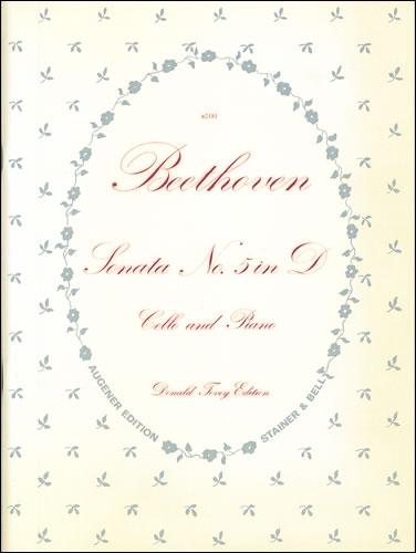 Beethoven, Ludwig Van: Sonata No. 5 In D, Op. 102, No. 2. Cello And Piano