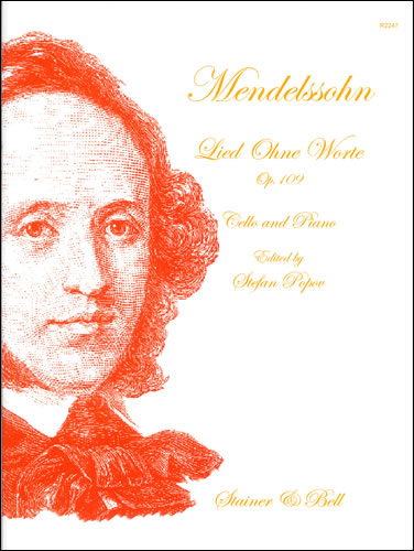 Mendelssohn, Felix: Lied Ohne Worte (Song Without Words) In D, Op. 109 For Cello And Piano