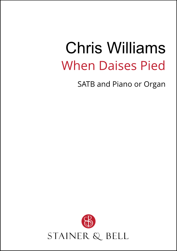Williams, Chris: When Daises Pied