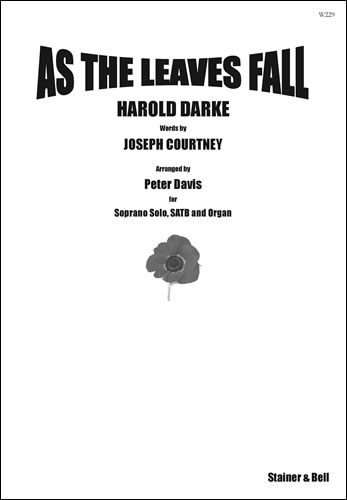 Darke, Harold: As The Leaves Fall. Vocal Score