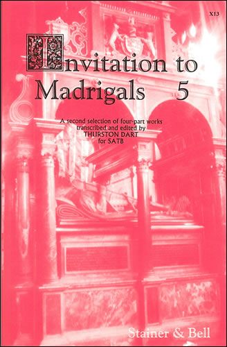 Invitation To Madrigals Book 5
