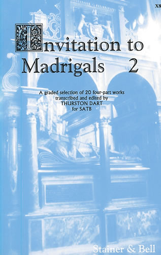 Invitation To Madrigals Book 2
