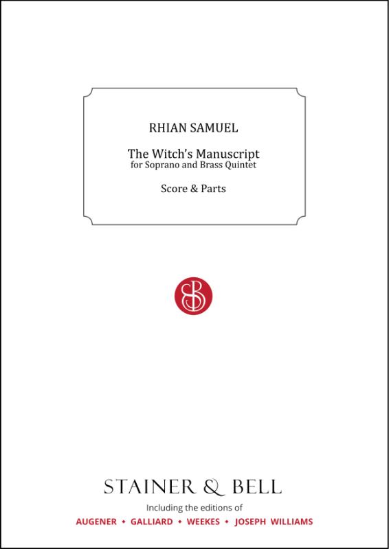 Samuel, Rhian: The Witch's Manuscript
